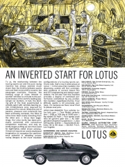 1964 Lotus Elan An - Inverted Start For Lotus