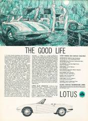1965 Lotus Elan - The Good Life