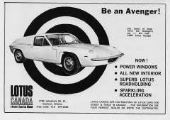Be an Avenger Lotus Canada