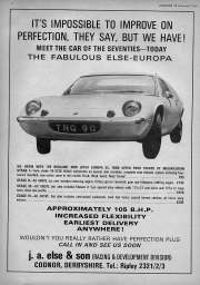 It's impossible to improve on perfection Lotus Europa