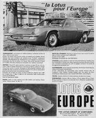 La Lotus pourl l'Europe