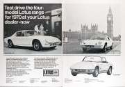 Test drive the four model Lotus range