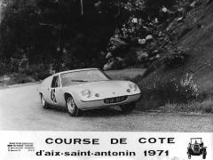 Course De Cote 1971 Lotus Europa