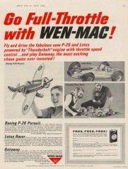 Go Full-Throttle with Wen-Mac ad